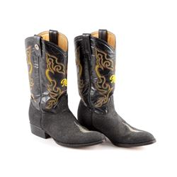 Rogers Sting Ray Skin Style Deluxe Cowboy Boots
