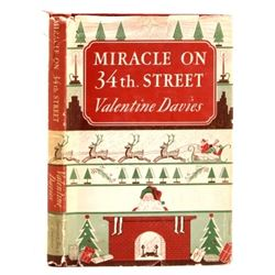 Miracle on 34th. Street by Valentine Davis 1947