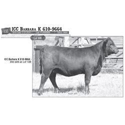 Lot - 10B - ICC Barbara K 610-9664