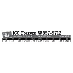 Lot - 41A - ICC Forever W857-9712