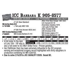 Lot - 11 - ICC Barbara K 905-8577