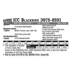 Lot - 82 - ICC Blackbird 3075-8591