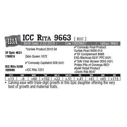 Lot - 113A - ICC Rita 9663 [ NHC ]