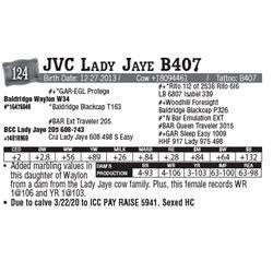 Lot - 124 - JVC Lady Jaye B407