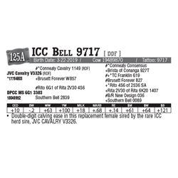 Lot - 125A - ICC Bell 9717 [ DDF ]