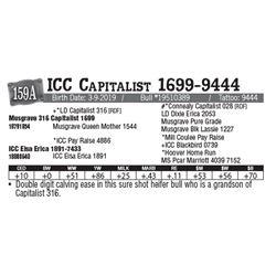 Lot - 159A - ICC Capitalist 1699-9444