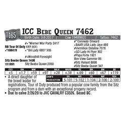 Lot - 165 - ICC Bebe Queen 7462