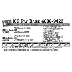 Lot - 174A - ICC Pay Raise 4886-9422
