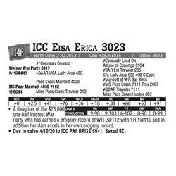 Lot - 146 - ICC Eisa Erica 3023