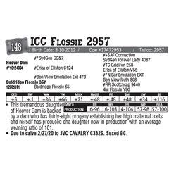 Lot - 148 - ICC Flossie 2957