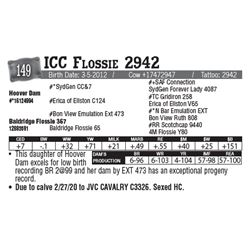 Lot - 149 - ICC Flossie 2942