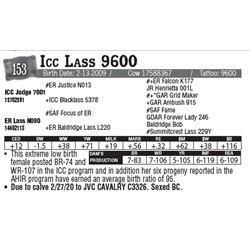 Lot - 153 - Icc Lass 9600