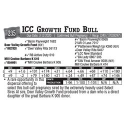 Lot - 235 - ICC Growth Fund Bull