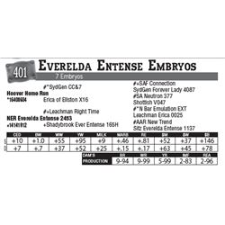 Lot - 401 - Everelda Entense Embryos