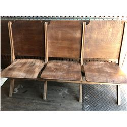 3 PERSON TOWN HALL THEATRE SEAT