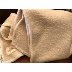 EATON'S TWIN SIZE WOOL BLANKET