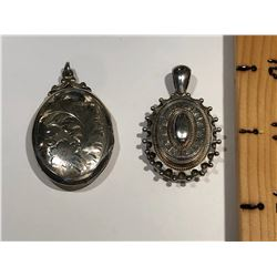 GR OF 2, SILVER LOCKETS