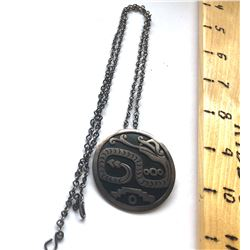 SILVER CHAIN WITH PENNANT