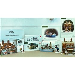 HERITAGE VILLAGE COLLECTION / DEPT 56 - DICKENS' VILLAGE SERIES PLUS ADDITIONS