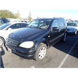 2000 Mercedes-Benz ML430