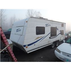 2009 Thor Raineer White  Travel Trailer