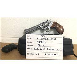 CHARTER ARMS, MODEL 72250 TARGET PATHFINDER, .22 LR