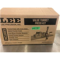 LEE VALU TURRET PRESS KIT