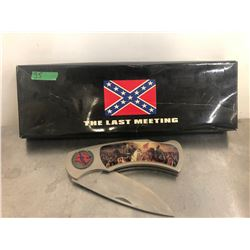 COMMEMORATIVE CIVIL WAR KNIFE - 'THE LAST MEETING'