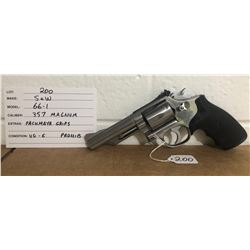 SMITH & WESSON, MODEL 66-1, .357 MAG