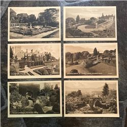 Set of Early 1900's Grand Tour Sepia Tone Travel Postcards, Ireland, Killarney House