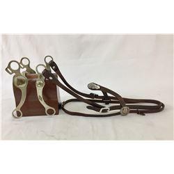 Two Don Ricardo Horse Bits