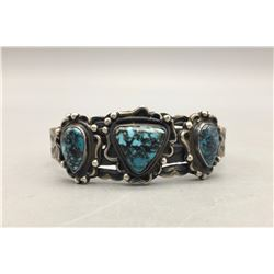Nice Three Stone Turquoise Bracelet