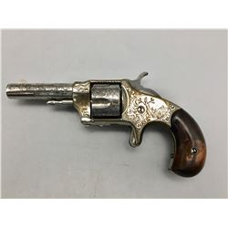 Antique Engraved .32 cal. Revolver