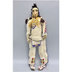 Vintage Beaded Sioux Doll