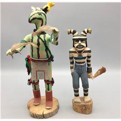 Koshari Clown and Squash Kachina