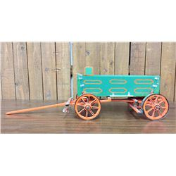 Delbert Buck Folk Art Wagon