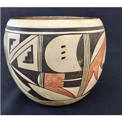 Hopi Pottery Bowl - Fawn Navasie