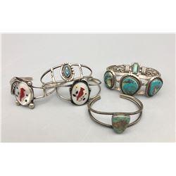 Group of Six Bracelets