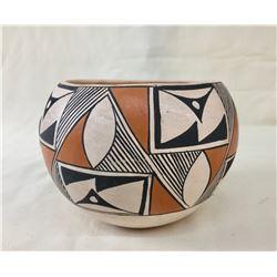 Vintage Acoma Pot, Signed PC