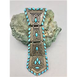 Sterling Silver and Turquoise Tie! B. Betoney