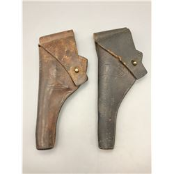 Two Early 1900s U.S. Holsters