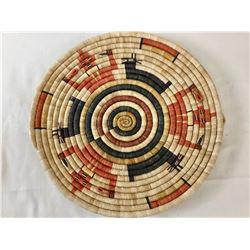 Hopi Figural Coiled Basket