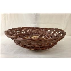 Santo Domingo Wicker Sifter Basket