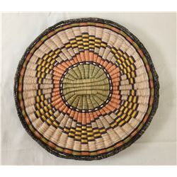 Hopi Wicker Plaque Basket