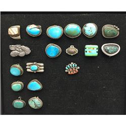 Group of 18 Vintage Rings