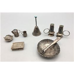 Group of Fred Harvey Era Silver Items