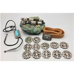 Group - Includes Belt, Bolo, Hat Band and Conchos