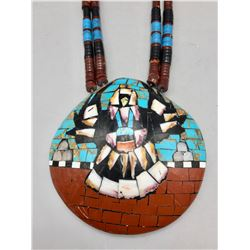 Large Inlay Shell Necklace