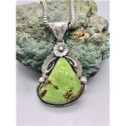 Nice Green Turquoise Necklace