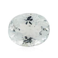 6.75 ct.Natural Oval Cut Aquamarine